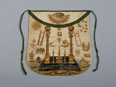 The Badge of a Freemason: Masonic Aprons from the Collection