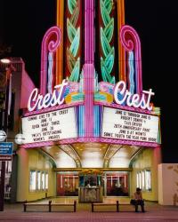 Crest Theatre, 1996. Sacramento, California. Photo by Stefanie Klavens