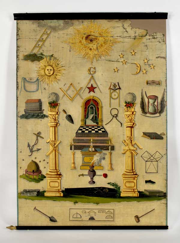 Every Variety Of Painting For Lodges Scottish Rite Masonic Museum Amp Library