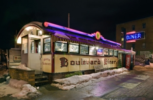 Boulevard Diner, 2009, Worcester, MA. Courtesy of John D. Woolf