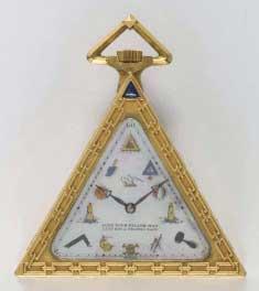 Pocket Watch, ca. 1930 Schwab-Loeillet Geneva, Switzerland. Gift of Robert O. Ralston