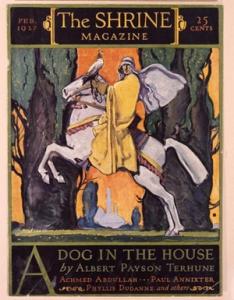 Cover, The Shrine Magazine, February 1927. Charles Buckles Falls (1874-1960), New York, New York. Gift of Dorothy H. Trower, in memory of Ralph E. Trower.